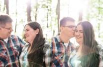 [Daniela & Clemens] Romantisches Paar-Shooting im Forst – Fränkische Schweiz