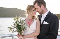 {extra&hergerichtet} Maritime Hochzeitsinspiration auf See