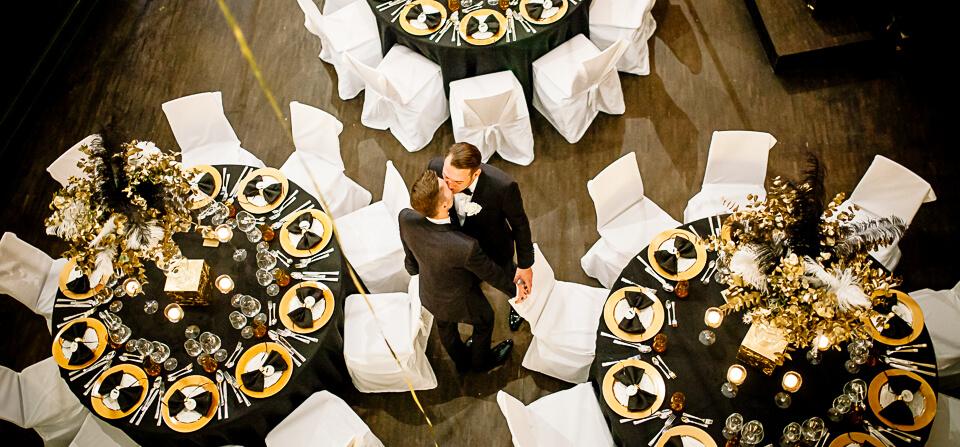 {weddings} 20er Jahre Motto-Hochzeit im Orpheum Nürnberg